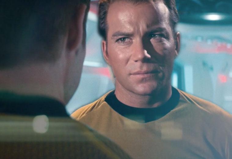 WATCH: TOS Crew Meets New Star Trek Movie Crew In An Amazing Mashup
