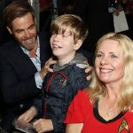 Chris Pine with fans