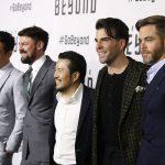 John Cho, Karl Urban, Justin Lin, Zachary Quinto and Chris Pine