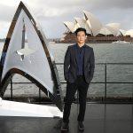 John Cho at the Australian premiere of Star Trek Beyond