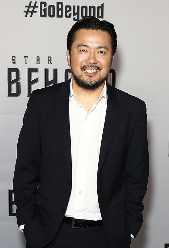 Justin Lin at the Australian premiere of Star Trek Beyond