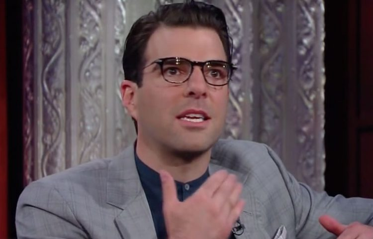 "WATCH: Zachary Quinto Pays Tribute to Anton Yelchin on ""The Late Show"""