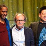Tim Russ, Ethan Phillips and Garrett Wang