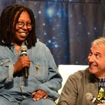 Whoopi Goldberg and Scott Mantz at the Las Vegas Star Trek Convention