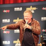 William Shatner on stage at the 2016 Las Vegas Star Trek Convention