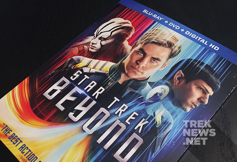 We're Giving Away STAR TREK BEYOND On Blu-ray!