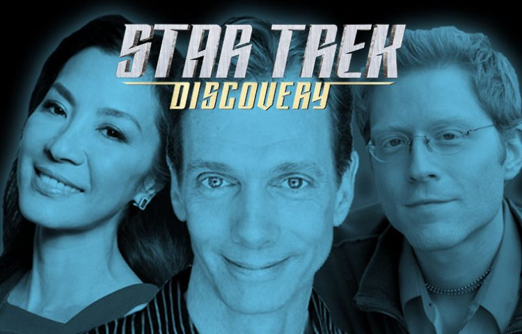 BREAKING: Three STAR TREK: DISCOVERY Cast Members Announced