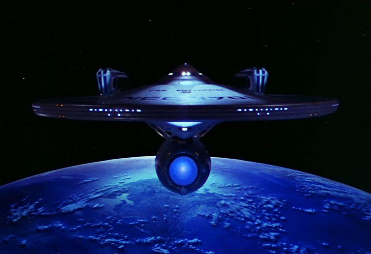 From Sea to Space: The Voyages of the Real and Fictional Enterprise