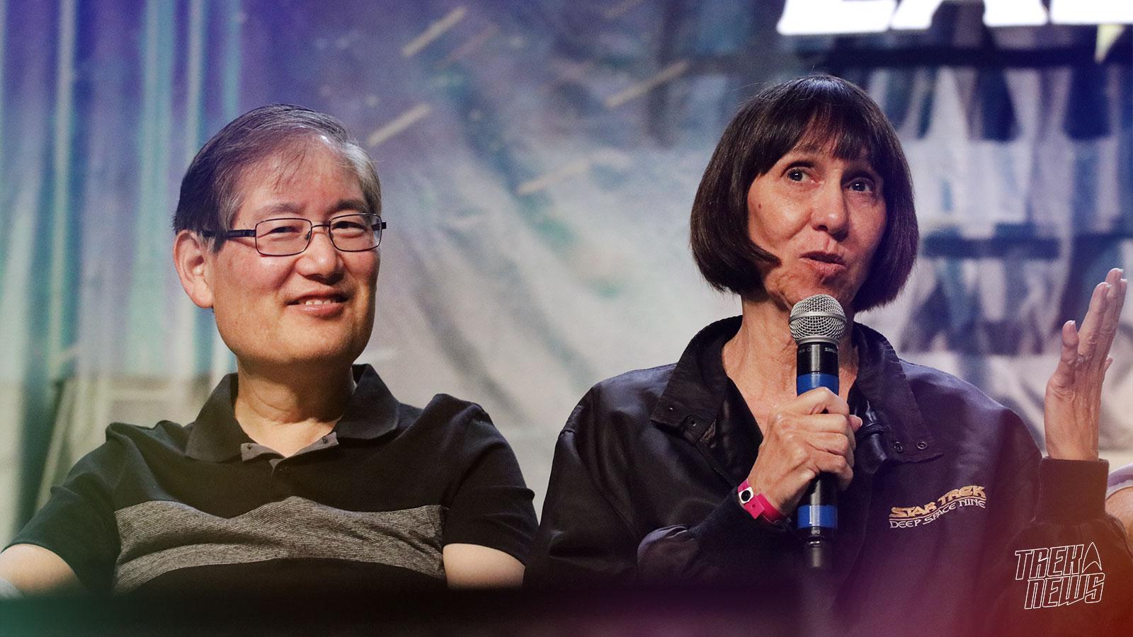 EXCLUSIVE: Mike And Denise Okuda Talk Roddenberry Vault, Star Trek Encyclopedia, Discovery