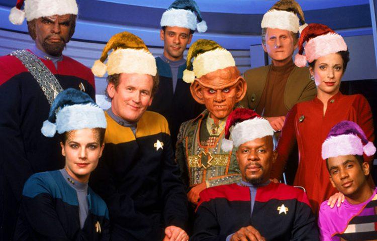 """WATCH: Sisko And Crew Sing """"Wonderful Deep Space Nine"""""""