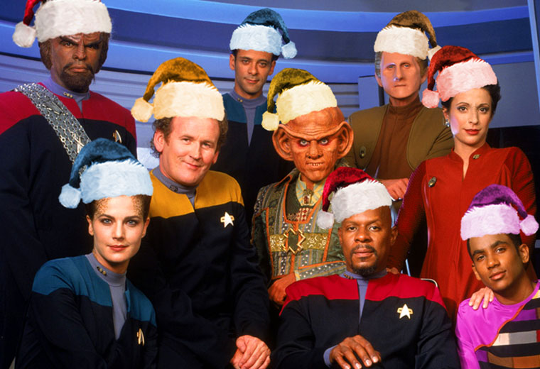"WATCH: Sisko And Crew Sing ""Wonderful Deep Space Nine"""