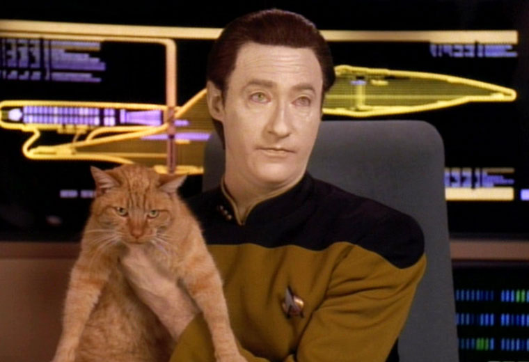 [TNG at 30] The Secret Life of 'Trek' Pets