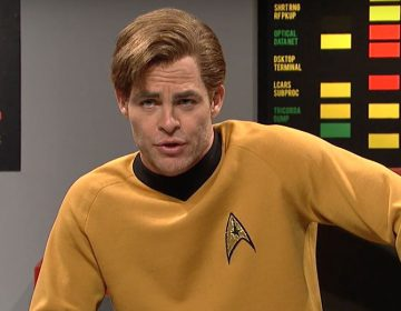 WATCH: Chris Pine Channels His Inner Shatner In SNL 'Star Trek' Sketch