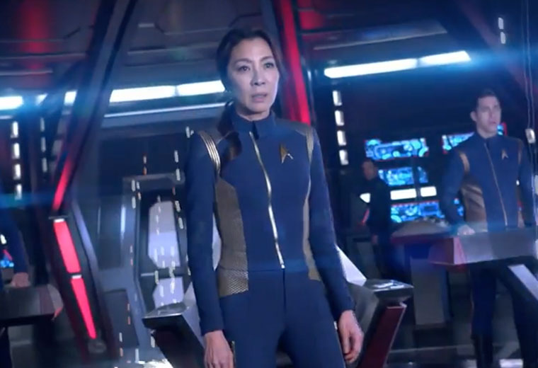 New 'Star Trek: Discovery' Trailer Premieres at SDCC