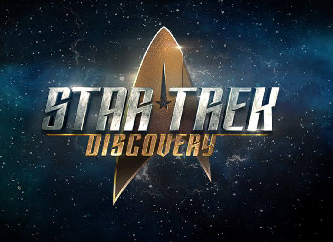 The updated Star Trek: Discovery logo