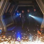 Mary Wiseman as Cadet Sylvia Tilly, Sonequa Martin-Green as Michael Turnham, Anthony Rapp as Paul Stamets