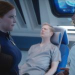 Mary Wiseman as Cadet Sylvia Tilly, Anthony Rapp as Lieutenant Paul Stamets and Wilson Cruz as Dr. Hugh Culber