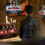 Behind the scenes: Sonequa Martin-Green as Michael Burnham