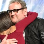 Hana Hatae and Colm Meaney