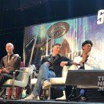 Doug Jones, Anson Mount and Sonequa Martin-Gree