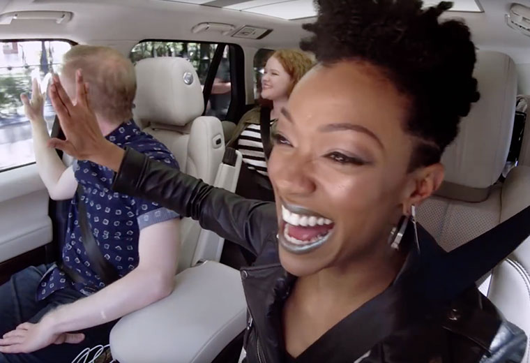 [PREVIEW] 'Discovery' Cast Spreads the Vulcan Salute on 'Carpool Karaoke'