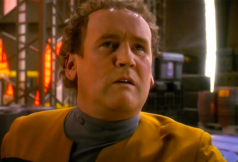 Fans Petition to Build a Miles O'Brien Statue in Ireland