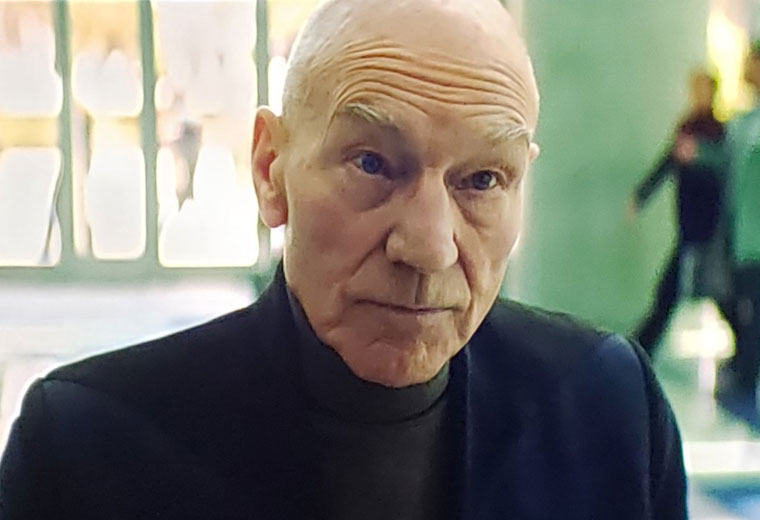 First Look at Patrick Stewart in STAR TREK: PICARD