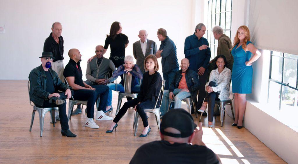 Members of the DS9 cast reunite