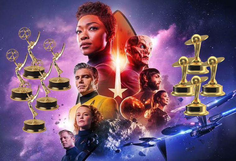 STAR TREK: DISCOVERY Racks Up Multiple Emmy & Saturn Award Nominations