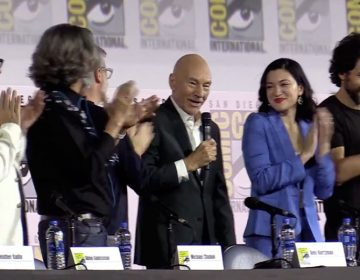 star trek picard sdcc panel patrick stewart brent spiner jeri ryan