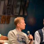 Wilson Cruz, Anthony Rapp and Doug Jones