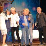 Terry Farrell, Nana Visitor, James Darren and Rene Auberjonois