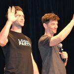 Ethan Peck and James Frain