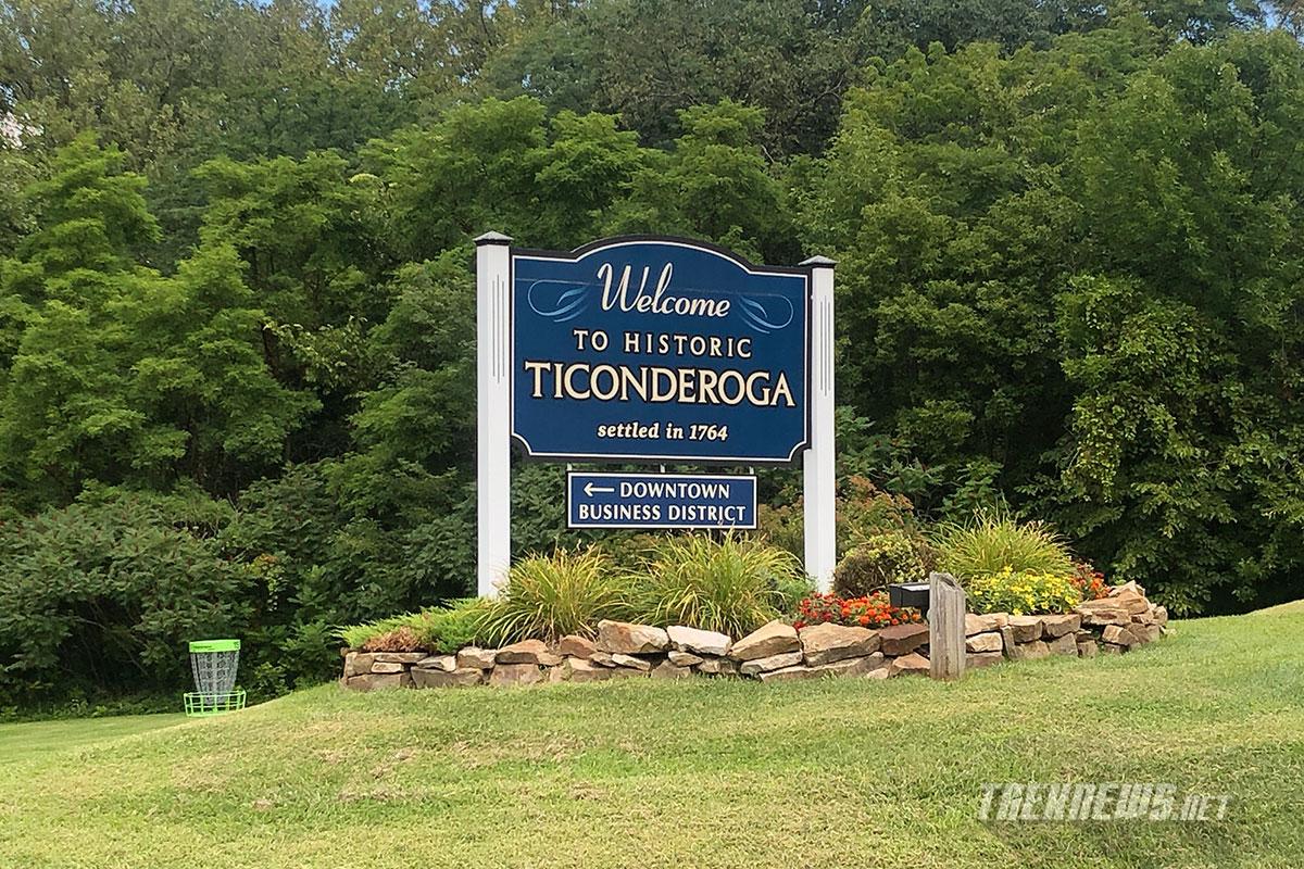 Welcome to Ticonderoga