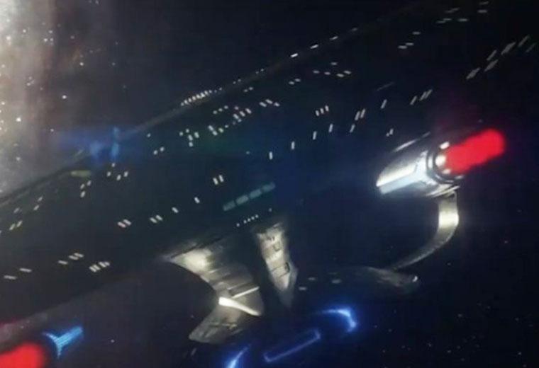 "WATCH: The Enterprise-D Returns in Latest STAR TREK: PICARD Trailer ""Blue Skies"""