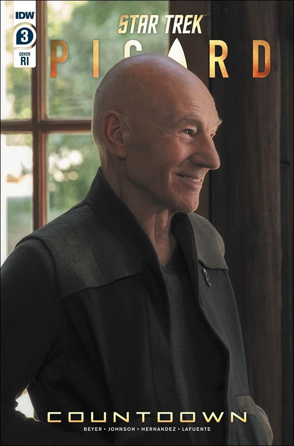 STAR TREK PICARD: COUNTDOWN #3 Photo Variant Cover