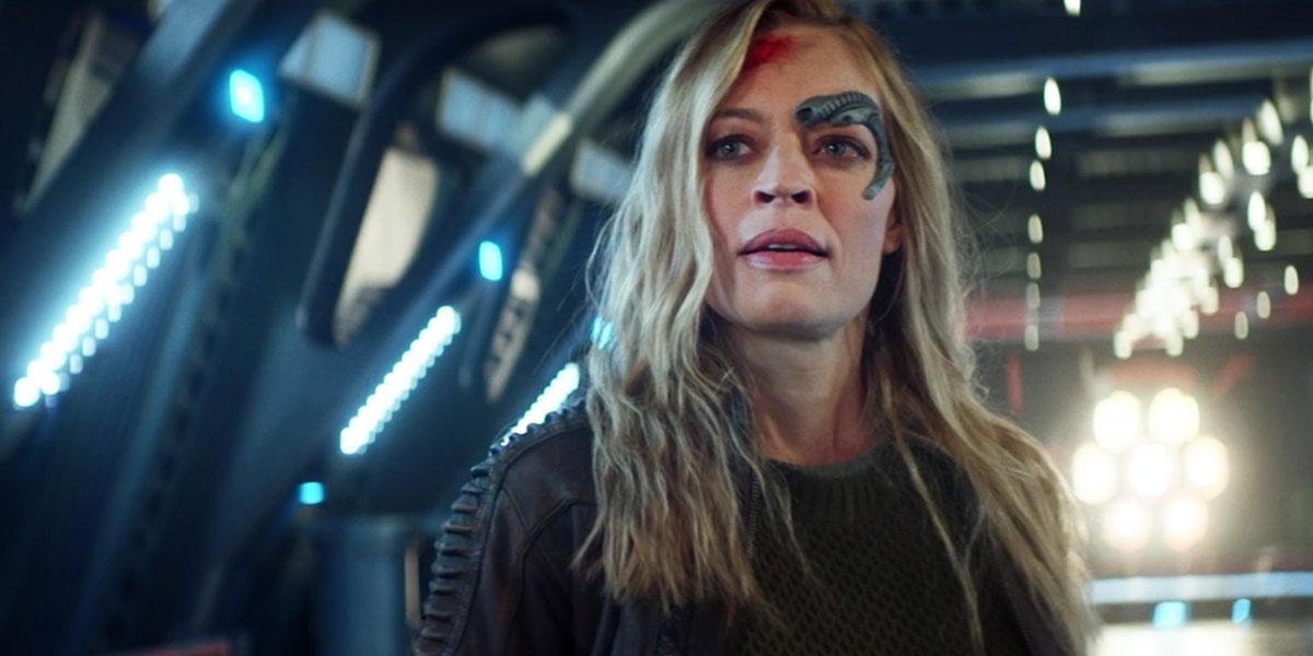 Jeri Ryan makes her Star Trek: Picard debut as Seven of Nine