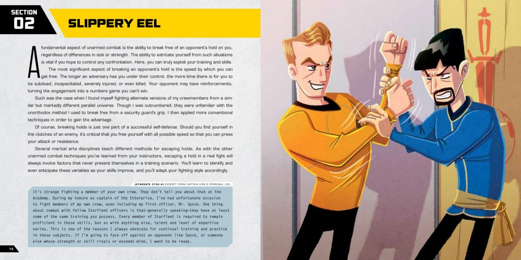 Slippery Eel contd in STAR TREK: KIRK FU MANUAL
