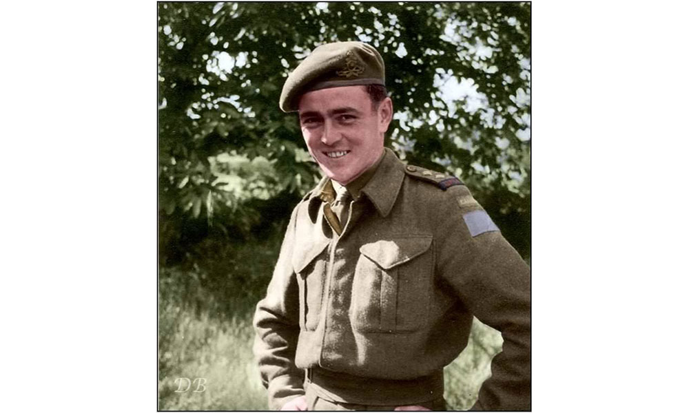 "Lt. James Montgomery ""Jimmy"" Doohan, 14th Field Artillery Regiment of the 3rd Canadian Infantry Division"