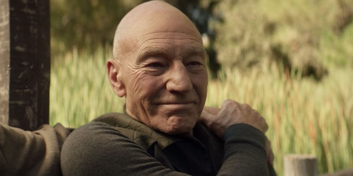 Picard with Riker