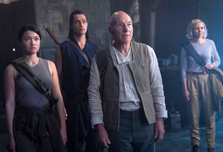 "New Photos from STAR TREK: PICARD Episode 9 ""Et in Arcadia Ego, Part 1"""