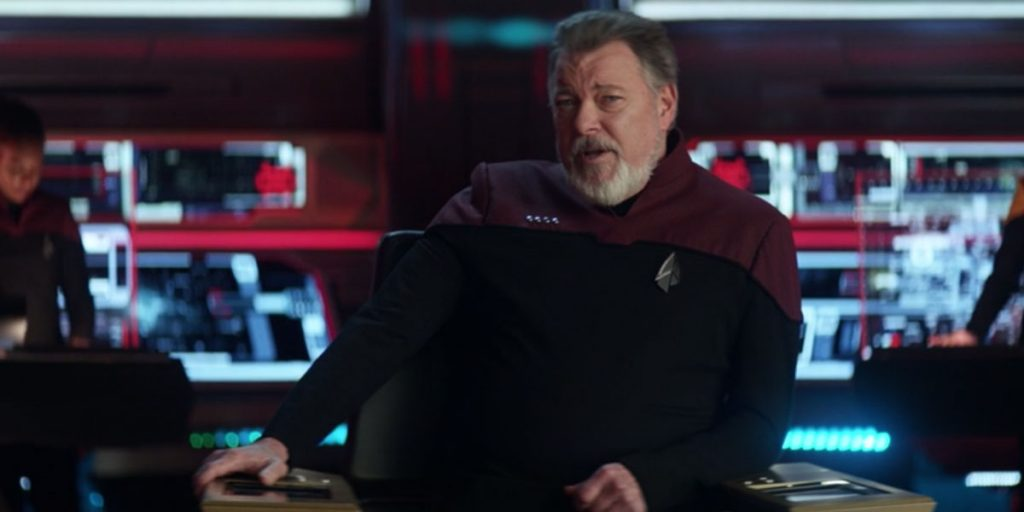 Jonathan Frakes as William Riker