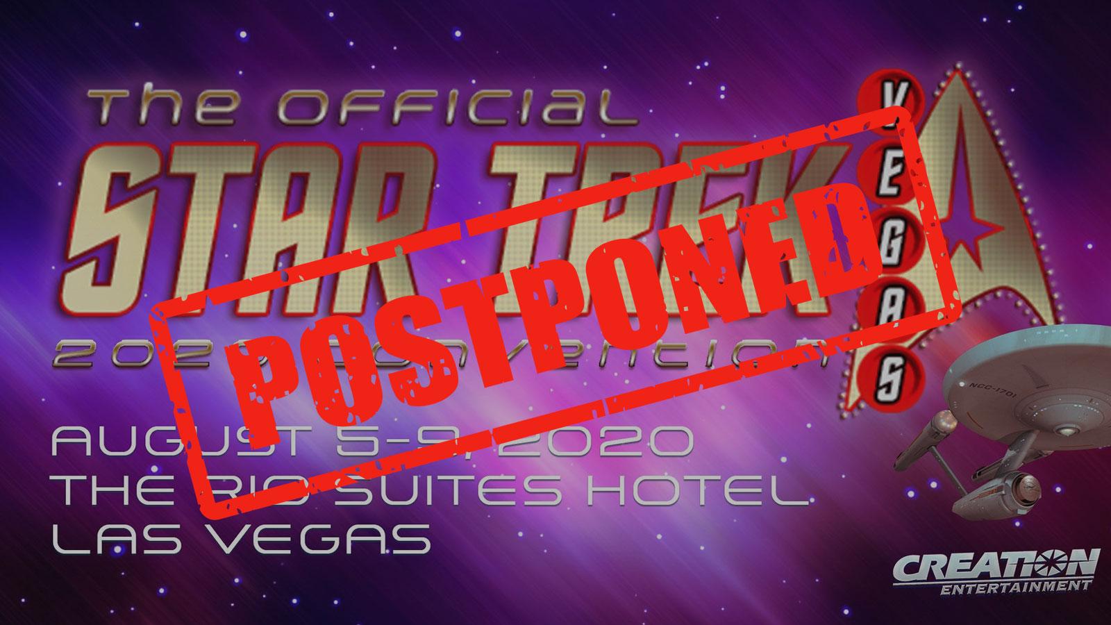 STAR TREK LAS VEGAS 2020 Postponed, New Dates And Location Announced