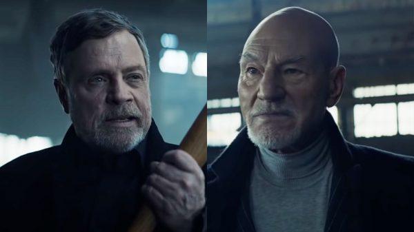 WATCH: It's Star Trek Versus Star Wars As Patrick Stewart Battles Mark Hamill In Uber Eats TV Spots