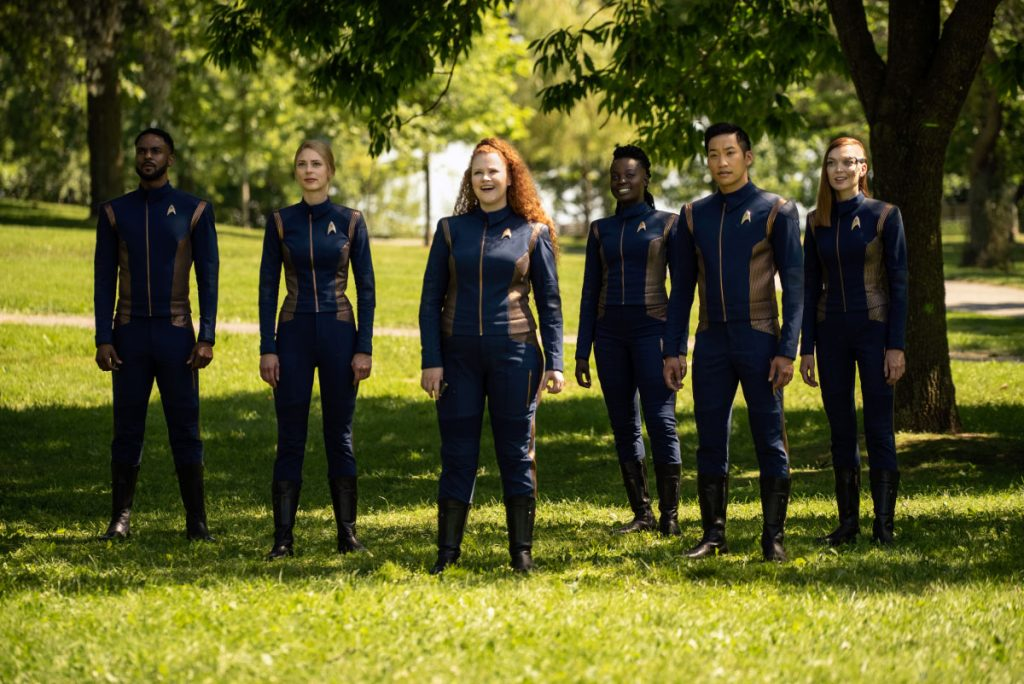 Ronnie Rowe Jr. as Lt. Price; Sara Mitich as Lt. Nilsson; Mary Wiseman as Tilly; Oyin Oladejo as Operations officer Joann Owosekun; Patrick Kwok-Choon as Lt. Gen Rhys and Emily Coutts as Keyla Detmer