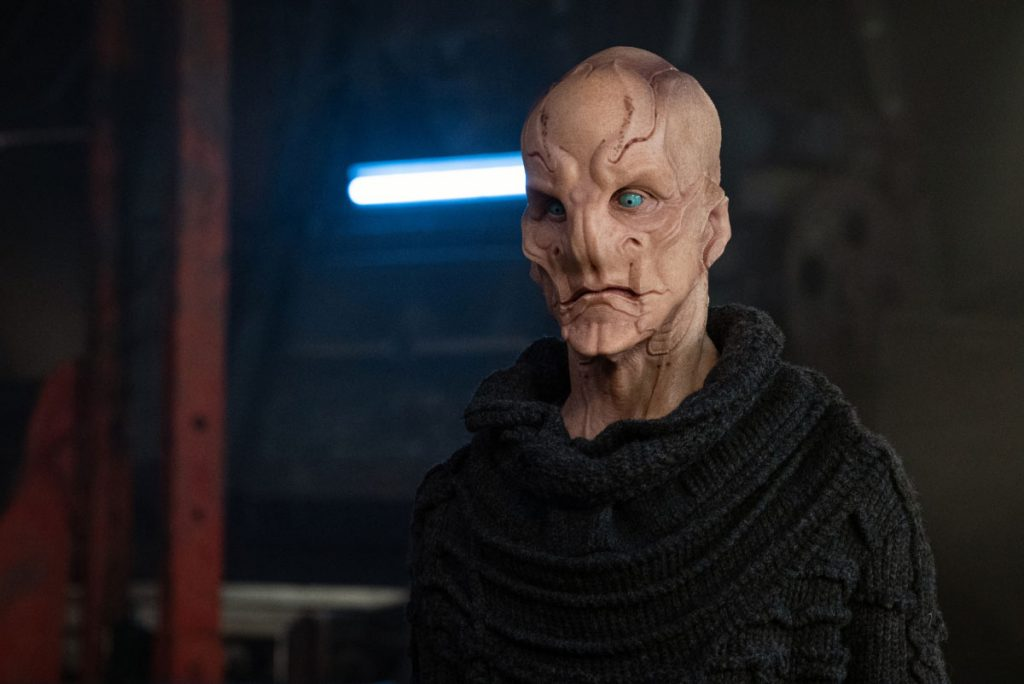 Doug Jones as Saru