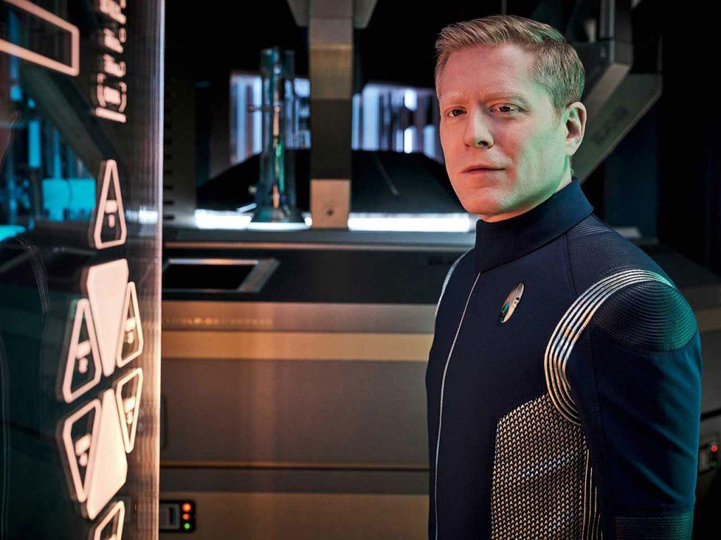 Anthony Rapp as Lt. Commander Paul Stamets