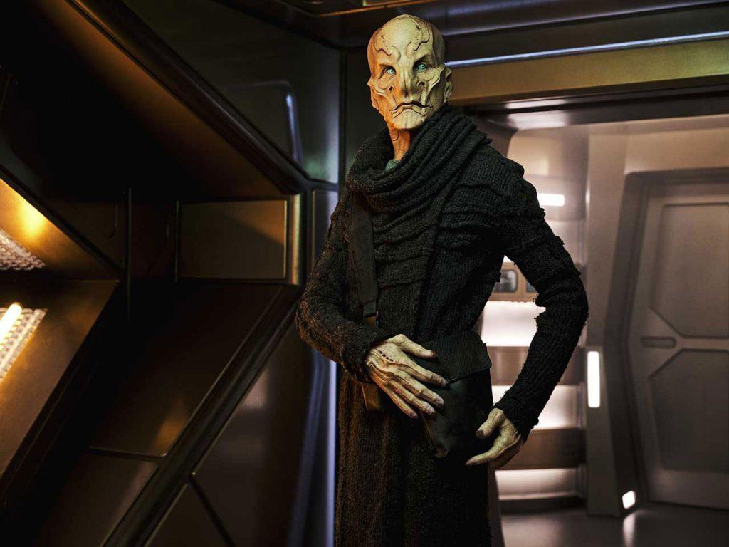 Doug Jones as Commander Saru