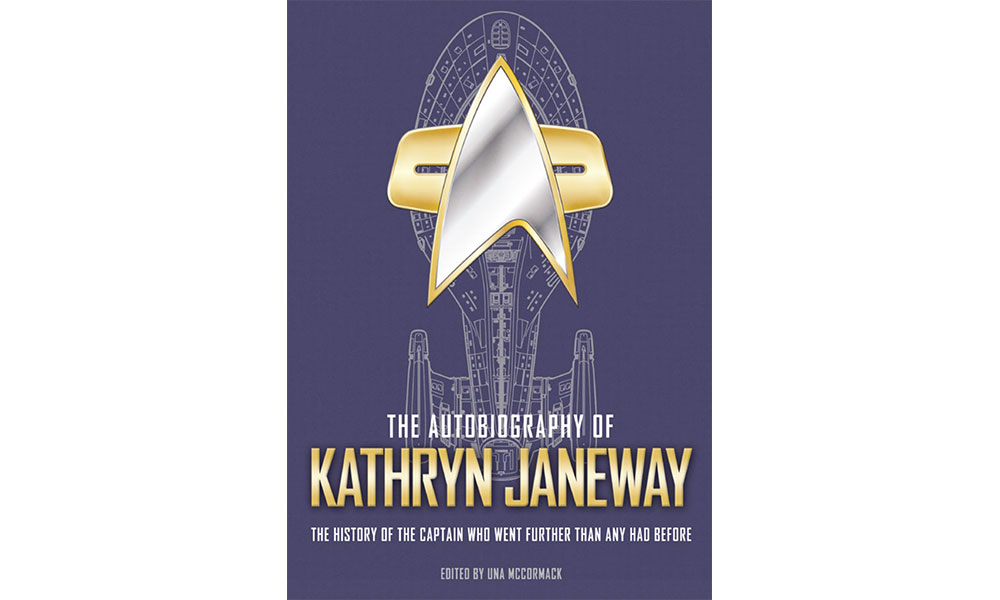 The Autobiography of Kathryn Janeway book cover