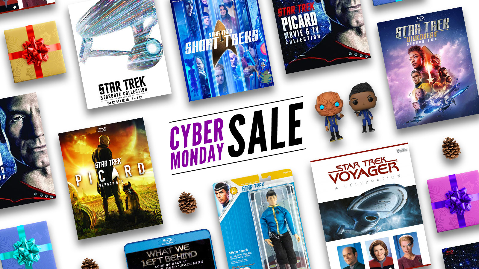 The Best Cyber Monday Star Trek Deals: Save On Blu-Rays, Books, T-Shirts, And More